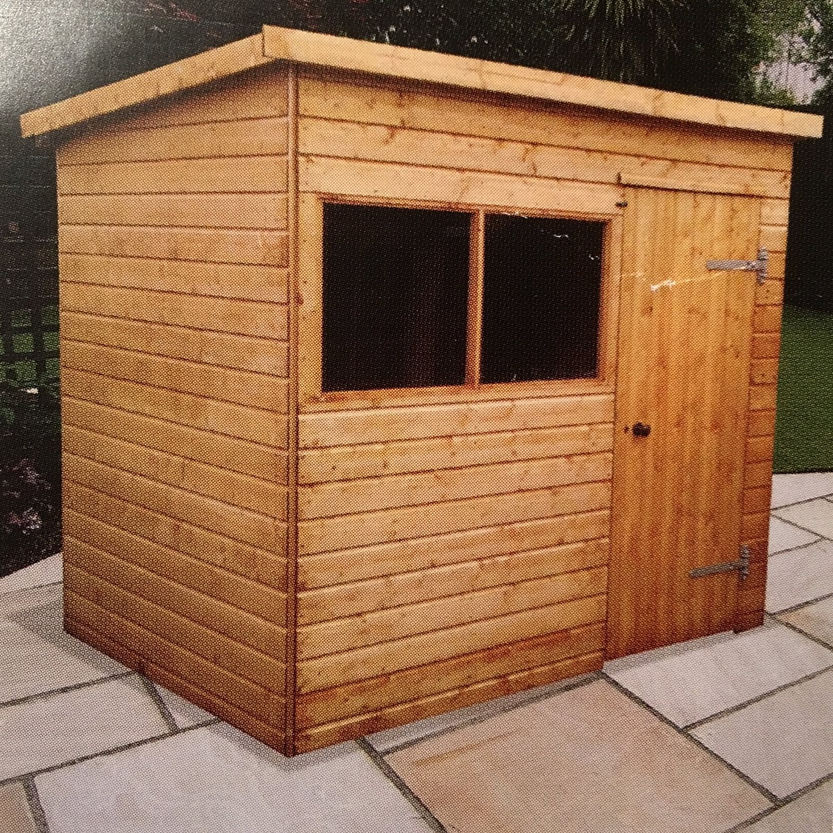 Heavy Duty Portable Buildings : Heavy duty sheds and workshops major pent style one